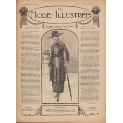 Magazine fashion and sewings-underwear-hats- 1918 N°06