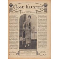 Revue complète de La Mode Illustrée 1918 N°28
