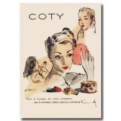 Publicité Coty Cosmétiques