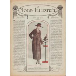 Complete magazine La Mode Illustrée 1918 N°03