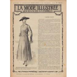 Complete magazine La Mode Illustrée 1916 N°04