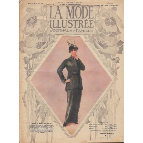 Revue La Mode Illustrée 1914 N°18