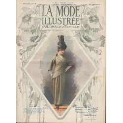 Revue complète de La Mode Illustrée 1914 N°23