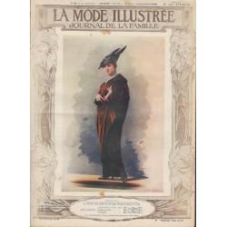 Revue complète de La Mode Illustrée 1914 N°22