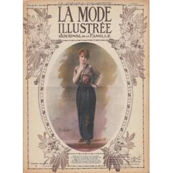 Revue complète de La Mode Illustrée 1914 N°16