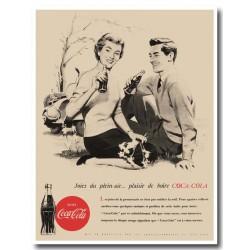 Publicité Coca Cola 1950