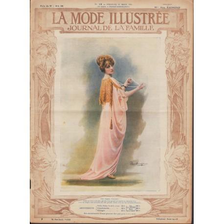 Revue complète de La Mode Illustrée 1914 N°12