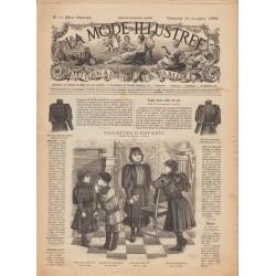 Revue complète de La Mode Illustrée 1892 N°51