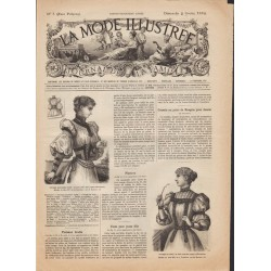 Revue complète de La Mode Illustrée 1894 N°5