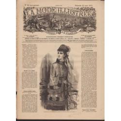 Complete magazine La Mode Illustrée 1879 N°12