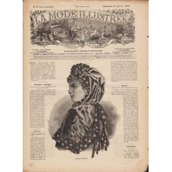 Revue complète de La Mode Illustrée 1884 N°3