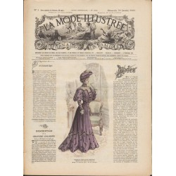 Revue complète de La Mode Illustrée 1905 N°05