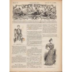 Complete magazine La Mode Illustrée 1893 N°21