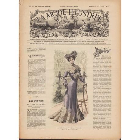 Revue robe de voyage et boléro 1902-13