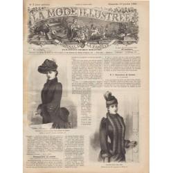 magazine La Mode Illustrée 1890-3