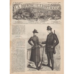 magazine La Mode Illustrée 1890-36