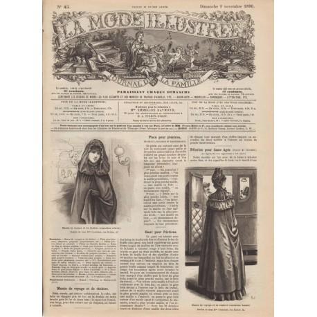 Revue La Mode Illustrée 1890-45