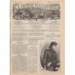 Revue complète de La Mode Illustrée 1890 N°40