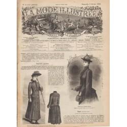 Revue complète de La Mode Illustrée 1890 N°5