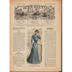 Revue complète de La Mode Illustrée 1900 N°40
