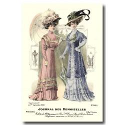 Gravure Journal des Demoiselles 1908 5435