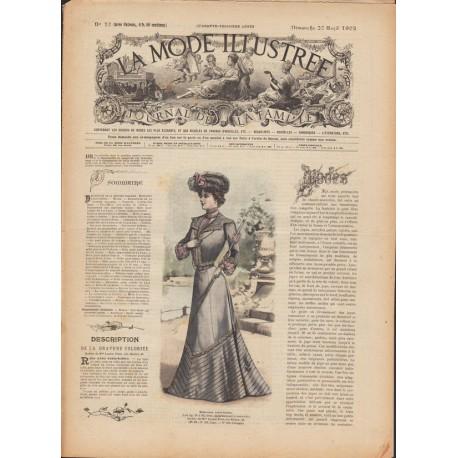 magazine La Mode Illustrée 1902 N°17