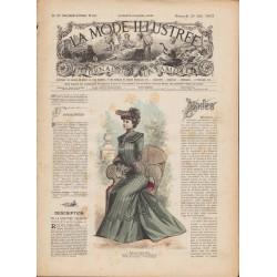 magazine La Mode Illustrée 1902 N°21