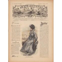 magazine La Mode Illustrée 1902 N°06