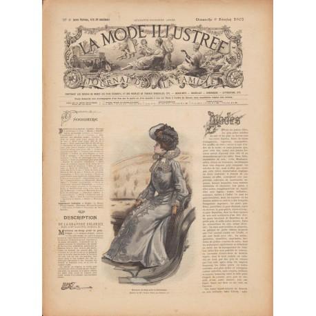 -zhurnal-moda- La Mode Illustrée 1902 N°06