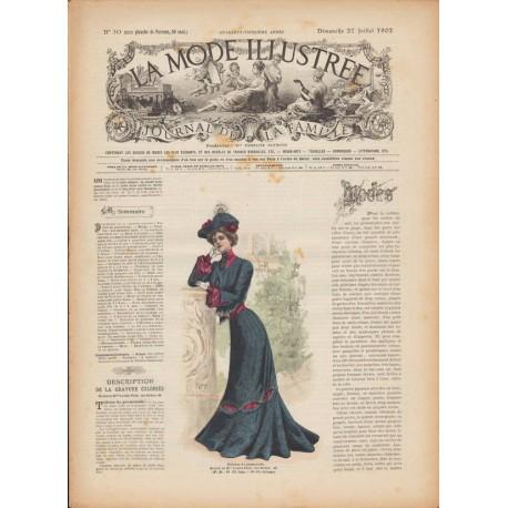 Revue La Mode Illustrée 1902 N°30