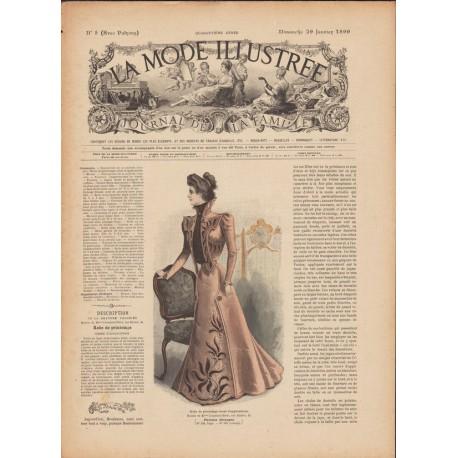 Revue La Mode Illustrée 1899 N°05