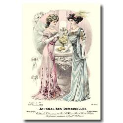 Gravure Journal des Demoiselles 1908 5441
