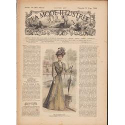 Revue La Mode Illustrée 1899 N°12