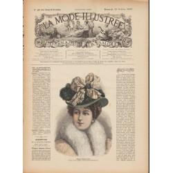 Revue complète de La Mode Illustrée 1899 N°42