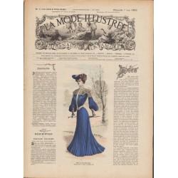 magazine La Mode Illustrée 1903 N°23