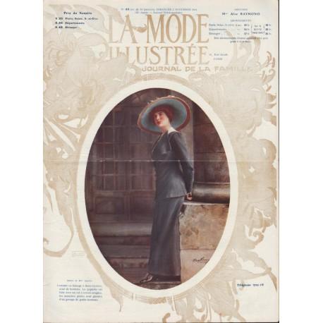 Revue La Mode Illustrée 1911 N°45
