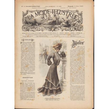 magazine La Mode Illustrée 1903 N°33