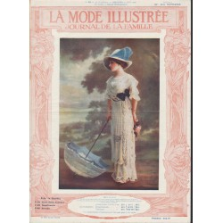 Revue La Mode Illustrée 1911 N°35