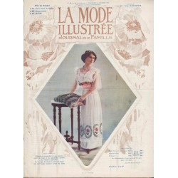 magazine La Mode Illustrée 1912 N°08