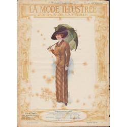 magazine La Mode Illustrée 1912 N°14
