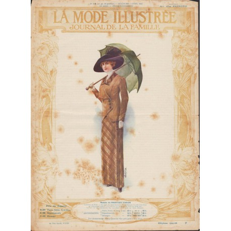 Revue La Mode Illustrée 1912 N°14