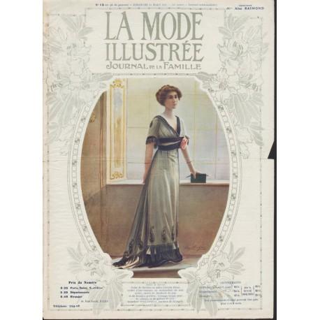 Revue La Mode Illustrée 1912 N°12