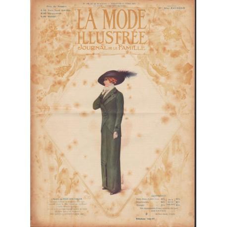 Revue La Mode Illustrée 1912 N°16