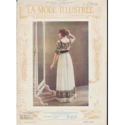 magazine La Mode Illustrée 1912 N°05