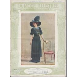 magazine La Mode Illustrée 1911 N°11