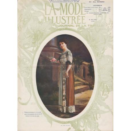 Revue La Mode Illustrée 1910 N°50