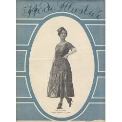 Complete magazine La Mode Illustrée 1921 N°18