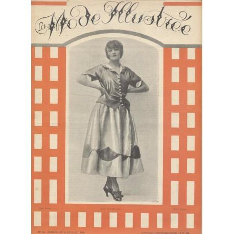Revue La Mode Illustrée 1921 N°28