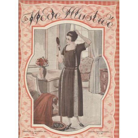 magazine La Mode Illustrée 1921 N°50