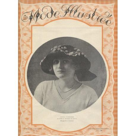Revue La Mode Illustrée 1921 N°41